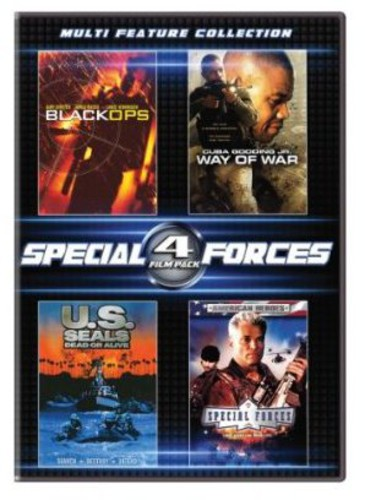 4 Film Special Forces Set