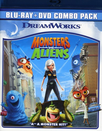 Monsters Vs. Aliens [Widescreen] [Blu-ray/ DVD Combo]