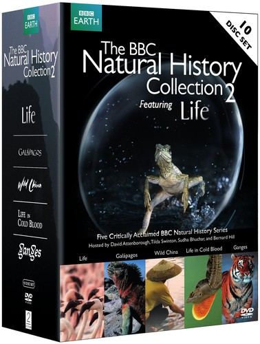 BBC Natural History Collection, Vol. 2 Featuring Life [Widescreen] [Gift Set] [10 Discs]