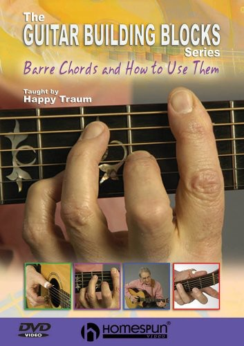 Happy Traum's Guitar Building Blocks [4 Discs] [Instructional] [Box]