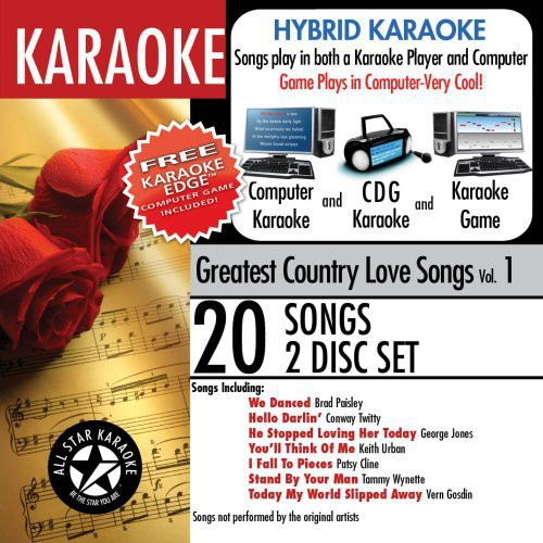 Karaoke: Greatest Country Love Songs With Karaoke Edge