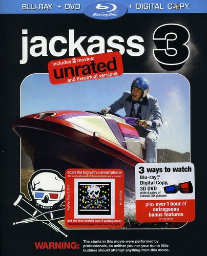 Jackass 3 [WS] [Unrated/ Rated Versions] [With 3D Version On DVD] [Digital Copy]