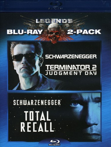 Terminator 2: Judgement Day/ Total Recall [2 Pack]