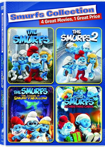 The Smurfs /  The Smurfs 2 /  The Smurfs: The Legend of Smurfy Hollow /  The Smurfs: A Christmas Carol