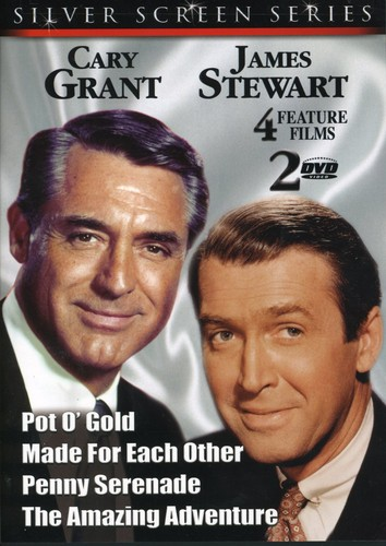 Cary Grant and James Stewart [2 DVD Slimline]