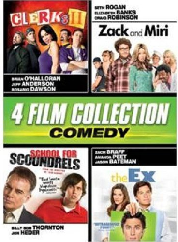 Comedy Quad (Clerks II/ Zack and Miri/ School For Scoundrels/ The Ex)