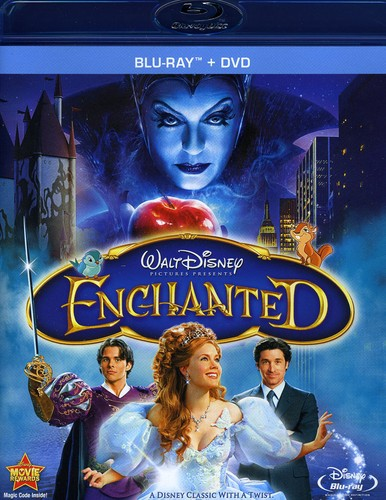 Enchanted [2007] [Widescreen] [Blu-ray/ DVD Combo] [2 Discs]