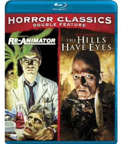 Cult Horror Classics Double Feature [Re-Animator/ The Hills Have Eyes]