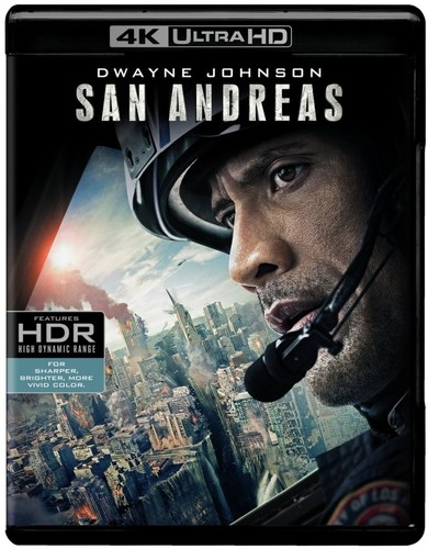 San Andreas    [4K Ultra HD + Blu-ray + Digital HD]