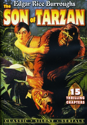 The Son Of Tarzan [Silent Film][B&W]