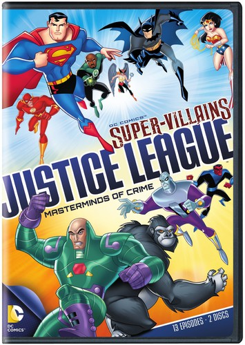 DC Super-Villains: Justice League: Masterminds of Crime