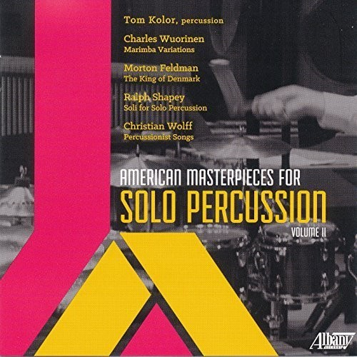 American Masterpieces for Solo Percussion II