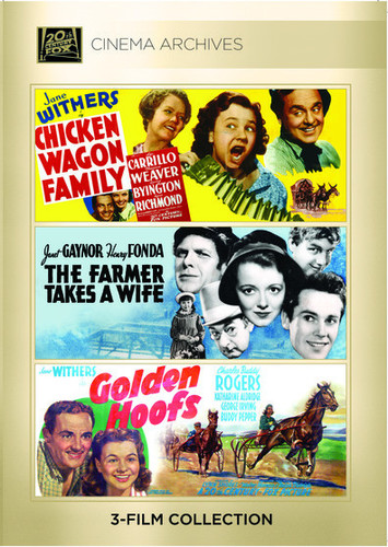 Chicken Wagon Family /  The Farmer Takes a Wife /  Golden Hoofs