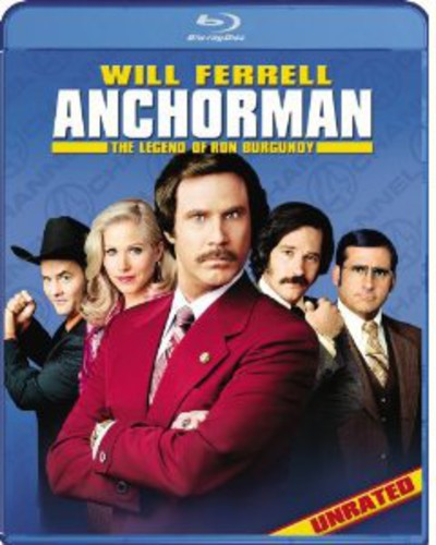 Anchorman: The Legend Of Ron Burgundy [Unrated, Uncut & Uncalled For!Edition] [WS] [Single Disc Version]