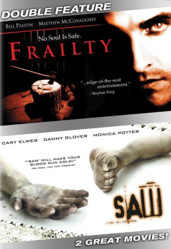 Saw [Unrated Alternate Cut]/ Frailty [WS] [Sensormatic] [Checkpoint]