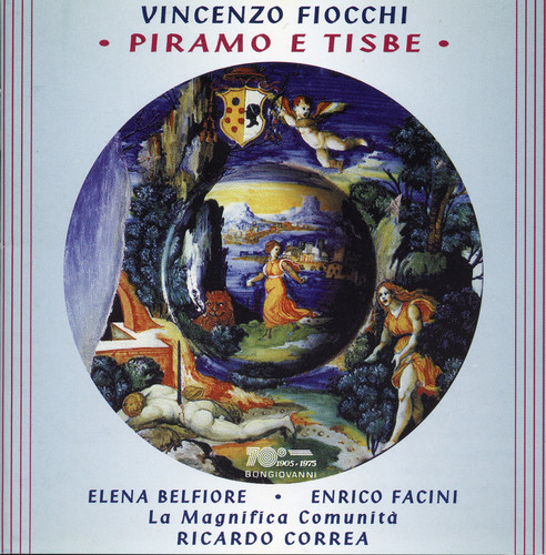 Piramo E Tisbe: Cantata for 2 VCS Strings & Harpsichord
