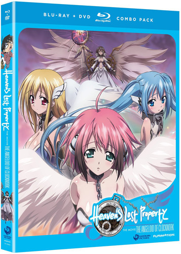 Heaven's Lost Property: The Angeloid Of Clockwork - The MovieAnime Classics