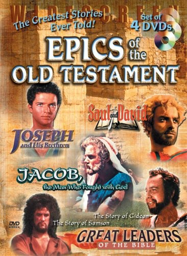 Epics Of The Old Testament Collection [WS] [4 Discs] [Remastered]
