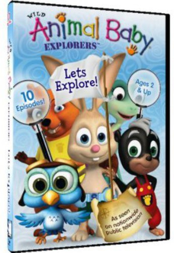 Wild Animal Baby Explorers: Let's Explore!