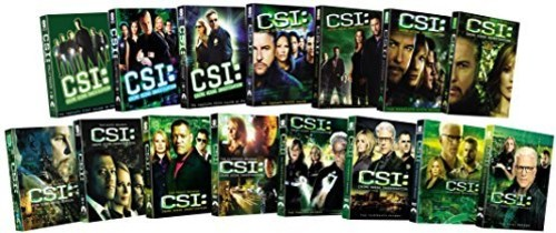 CSI: Crime Scene Investigation: Fifteen Season Pack
