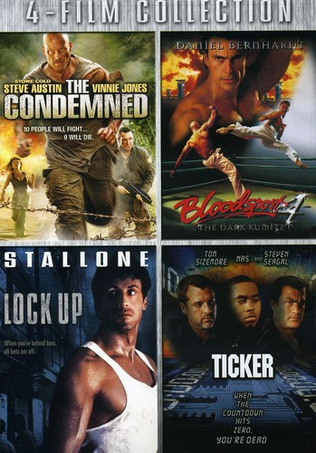 The Condemned/ Bloodsport/ Lock Up/ Ticker [4 Discs]