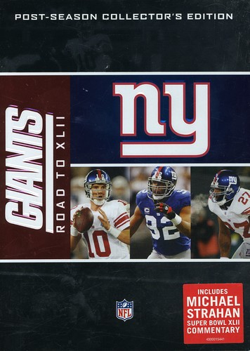 NFL Road To Super Bowl XLII [Standard] [4 Discs]