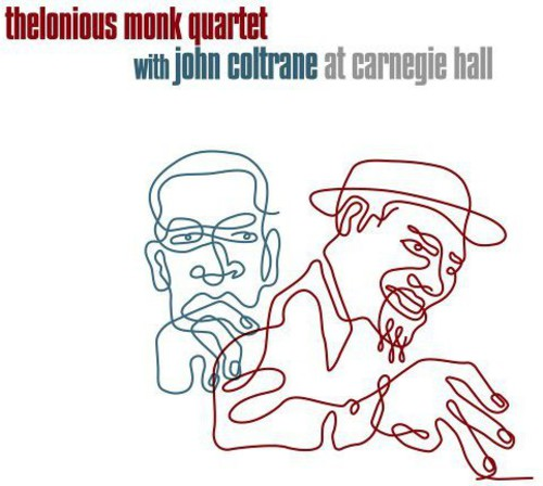 Thelonious Monk with John Coltrane at Carnegie