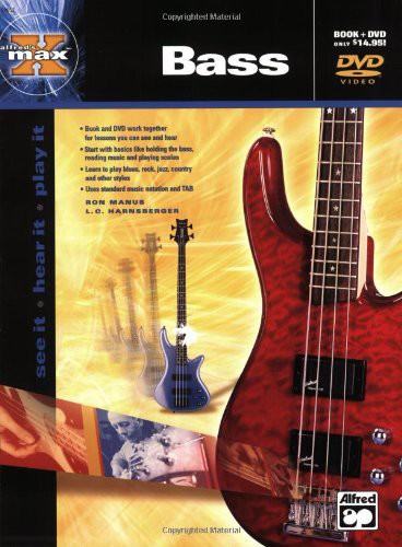 Alfred's Max Bass [Instructional] [W Book]