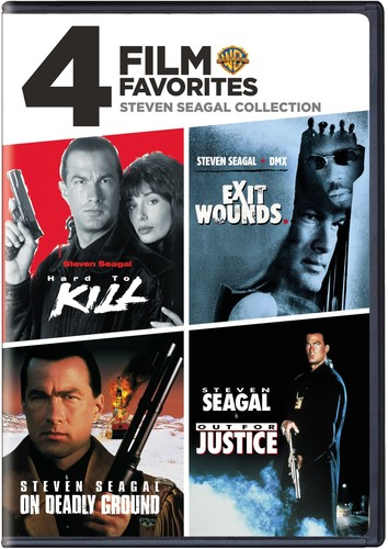 4 Film Favorites: Steven Seagal Collection