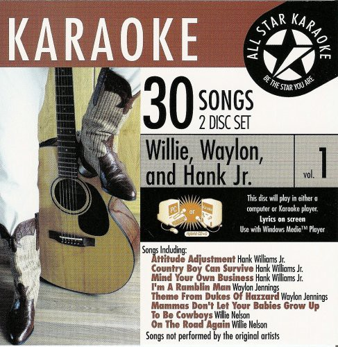 Karaoke: Willie, Waylon, and Hank Jr, Vol. 1