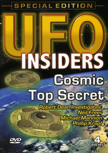 Ufo Insiders: Cosmic Top Secret [4 Pack] [Special Edition] [Documentary]