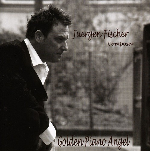 Golden Piano Angel