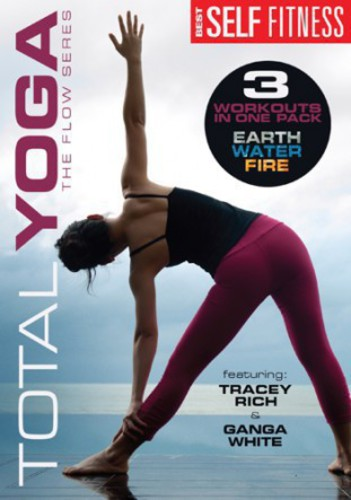 Total Yoga 3-Pack - Flow Series (Earth, Fire and Water)