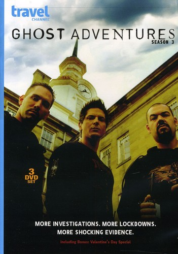 Ghost Adventures: Season 3 [3 Discs]