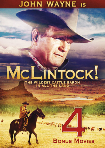Mclintock (includes 4 Bonus Movies)