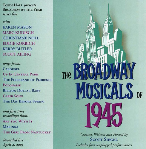 Broadway Musicals of 1945 /  Various