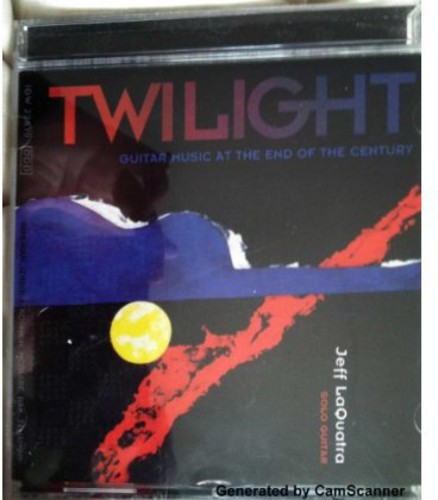Twilight: Guitar Music at the End of the Century