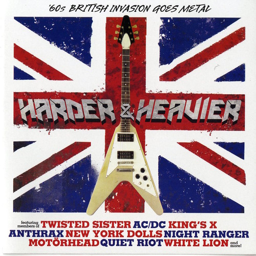 Harder & Heavier: 60's British Invasion /  Various