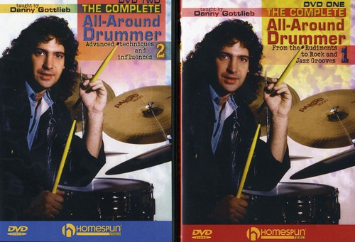 The Complete All-Around Drummer, Vol. 1 and 2 [Instructional]
