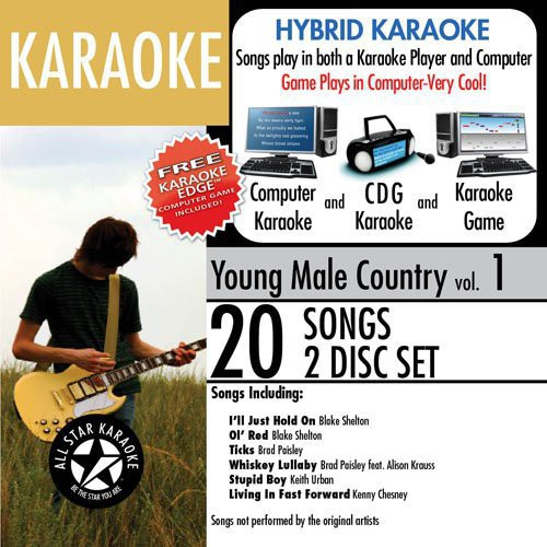 Karaoke: Young Male Country, Vol. 1