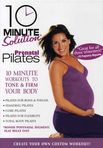 10 Minute Solution: Prenatal Pilates  [Full Frame]