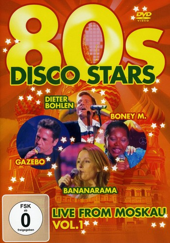 80s Disco Stars Live from Moskau 1 /  Various