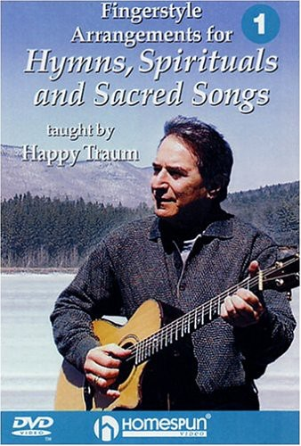 Fingerstyle Arrangements For Hymns, Spirituals and Sacred Songs, Vol.1 [Instructional]