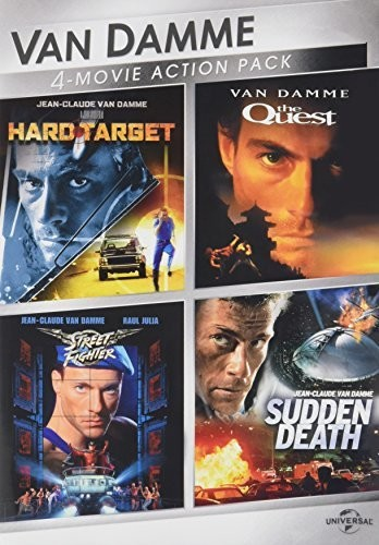 Van Damme 4-Movie Action Pack: Hard Target /  The Quest /  StreetFighter /  Sudden Death