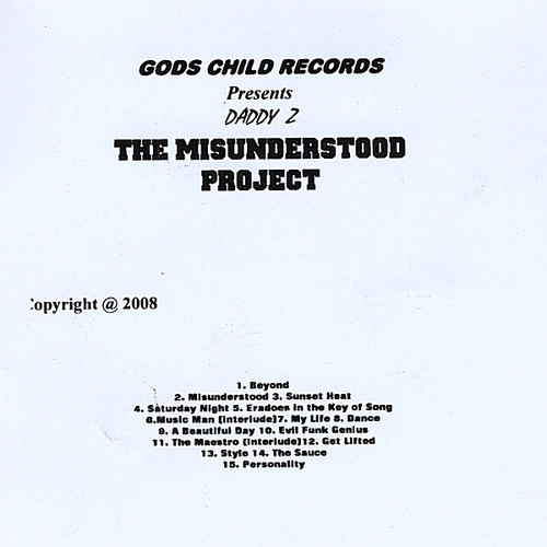 Misunderstood: The Project