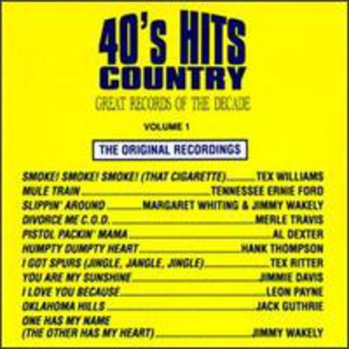 40's Country Hits 1 /  Various