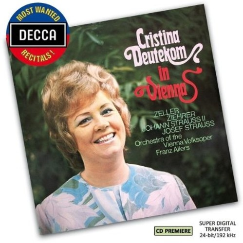 Most Wanted Recitals: Cristina Deutekom in Vienna