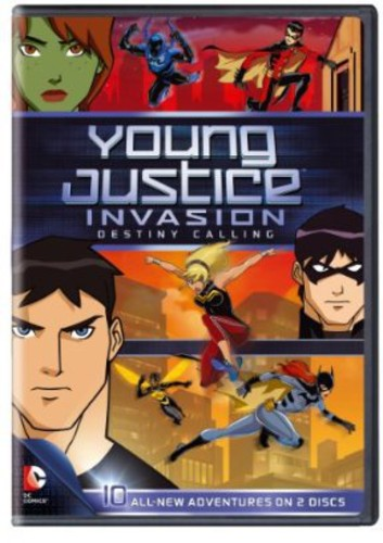 Young Justice Invasion Destiny Calling: Season 2 Part 1