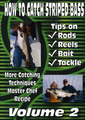How To Catch Striped Bass, Vol. 2