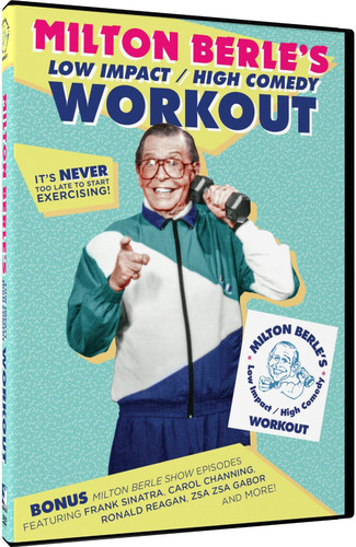Milton Berle's Low Impact /  High Comedy Workout PLUS BONUS Milton